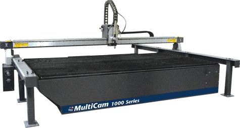 MultiCam 1000 Series CNC Modular Plasma Cutter Bridge & Rail