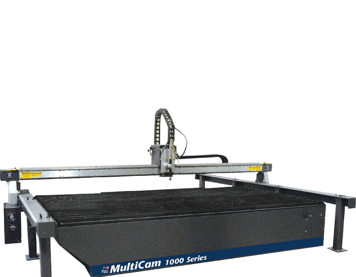 1000 Series Bridge and Rail CNC Plasma Cutter