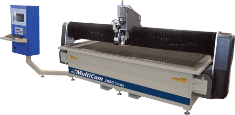 MultiCam 3000 Series CNC Waterjet
