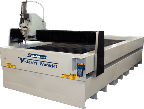 MultiCam V-Series Waterjet